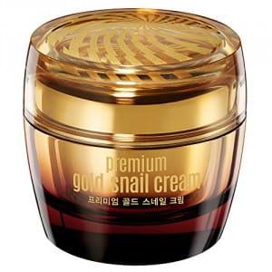 Антивозрастной крем с фильтратом муцина улитки и золотом Goodal Premium gold snail cream 50 ml.
