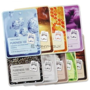 Тканевая маска  Tony Moly Pureness 100 Mask Sheet 21ml