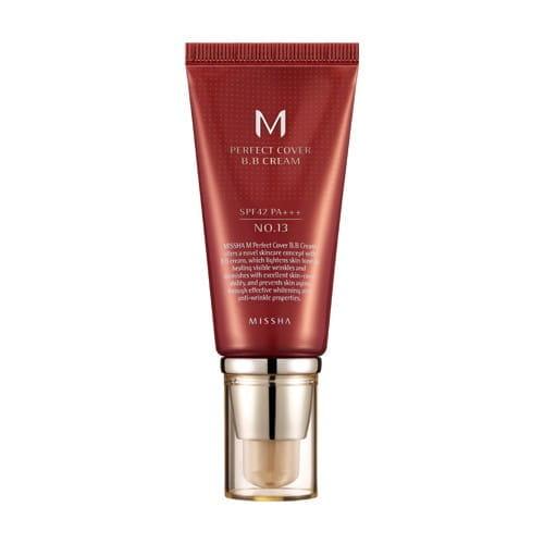ВВ-крем с  защитой от ультрафиолета Missha M perfect cover BB cream SPF42 PA+++ 50ml