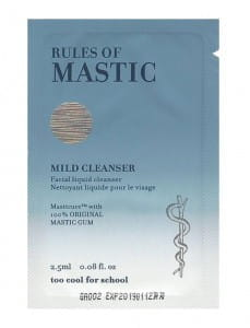 [S] TOO COOL FOR SCHOOL Rules Of Mastic Mild Cleanser 2.5ml*10ea