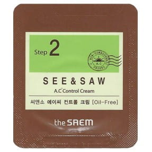 [S] THE SAEM See & Saw A.C Control Cream 1ml*10ea