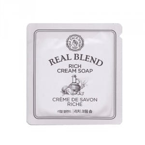 The Face Shop Real Blend Rich Cream Soap 1.5ml*10ea