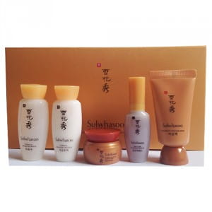 [L] SULWHASOO Concentrated Ginseng Renewing Kit (5 Items)