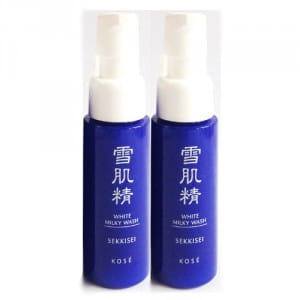 [L] KOSE Sekkisei White Milky Wash Cleanser 20ml×2(40ml)