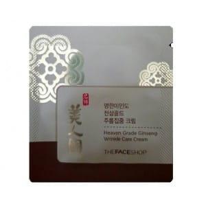 The face shop Heaven Grade Ginseng Wrinkle care Cream 1ml*10ea
