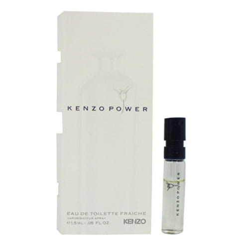Миниатюрная версия мужского парфюма KenzoPower eau de toilette Fraiche 1.5ml