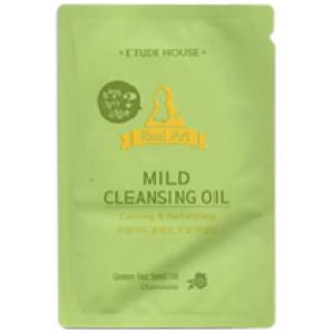 Etude Real Art Cleansing Oil Mild 4ml*10ea