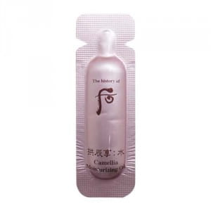 Масло Whoo Gongjinhyang Soo Camellia moisturizing oil 1ml*10ea