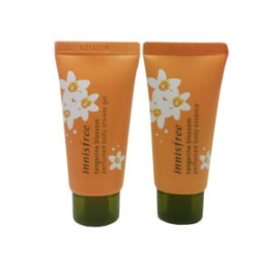 Набор для тела (гель душа и эссенция для тела) Innisfree Tangerine Blossom Perfumed Body Gift Set