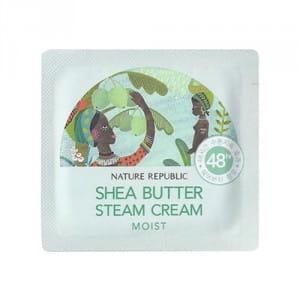 Питательный крем с маслом ши Nature Shea butter steam cream 1ml*10ea
