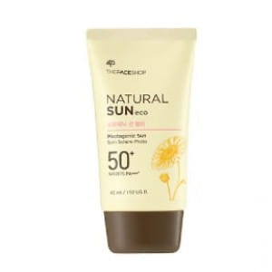 THe FACE SHOP Natural Sun Eco Photogenic Sun Blur SPF 50 PA+++