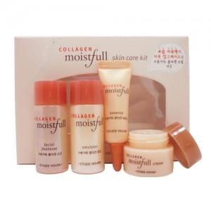 Etude Collagen Moistfull Skin Care 4pcs Kit