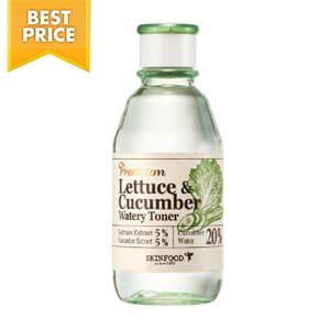 Тонер с экстрактом огурца и салата Skinfood Lettece & Cucumber Watery Toner 180ml
