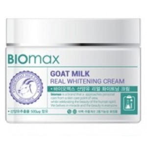 WELCOS Biomax Goat Milk Real Whitening Cream 100g