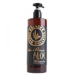 Смягчающий  и успокаивающий гель  с экстрактом алоэ Urban Dollkiss The Black Aloe Soothing Gel