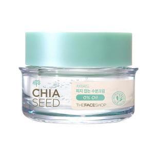 Крем с эффектом глубокого увлажнения The Face Shop Chia Seed Sebum Control Moisture Cream 50ml