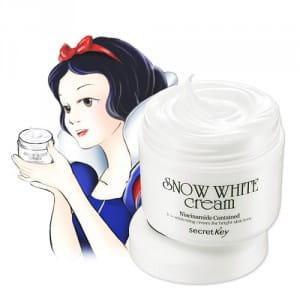 Осветляющий крем для лица Secret Key Snow White Cream 50g
