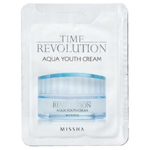 Missha Time Revolution Aqua Youth Cream 1ml * 10ea