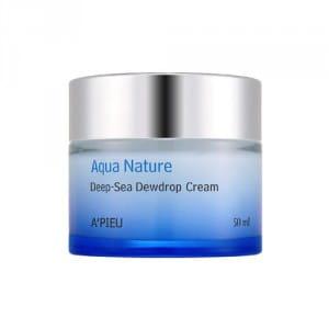 Ультраувлажняющий крем-гель с морской водой A'PIEU Aqua Nature Deep-Sea Dewdrop Cream - Ultra Moisture 50ml
