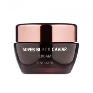 Питательный антивозрастной крем для лица с черной икрой Enprani Super Black Caviar Cream 50ml
