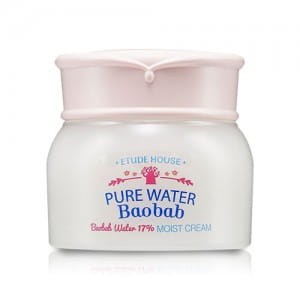 Крем для лица с экстрактом баобаба Etude House Pure Water Baobab Cream 60ml