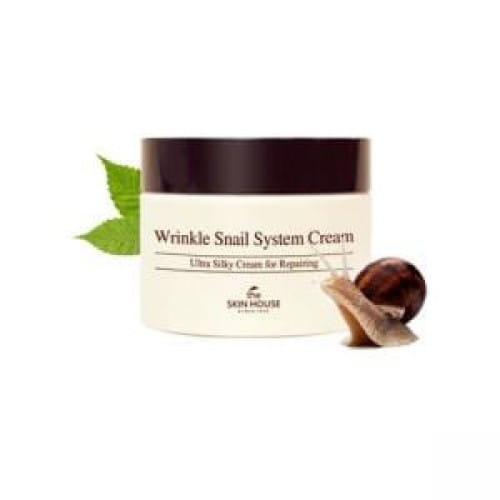 Улиточный крем The Skin House Wrinkle Snail System Cream 50ml