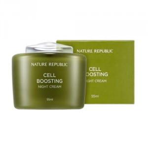 Питательный крем-гель для лица NATURE REPUBLIC Cell Boosting Night Cream 55ml