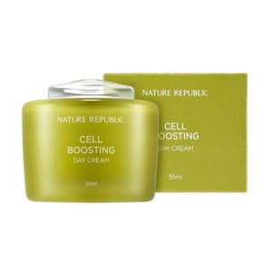 Крем для восстановления и сияния кожи NATURE REPUBLIC Cell Boosting Day Cream 55ml