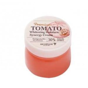 Отбеливающий крем с томатом SKINFOOD Premium Tomato Whitening Moisture synergy cream 78ml