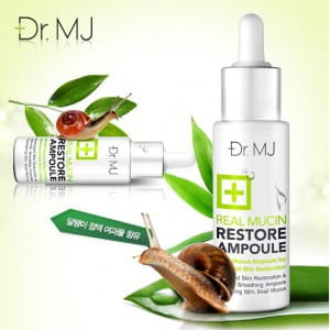 Эссенция для воостановления кожи Dr.MJ Real Mucin Restore Ampoule 30ml