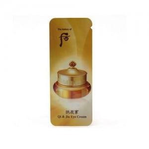 Whoo Qi & Jin Eye Cream 1 ml * 10ea