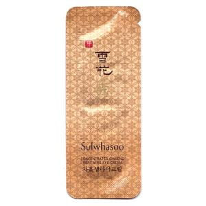 Sulwhasoo Concentrated Ginseng Renewing Eye Cream 1ml*10ea