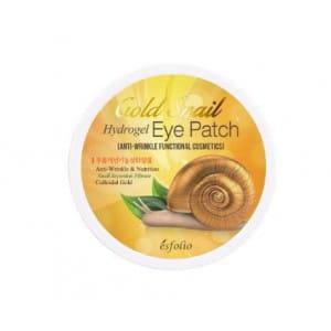 Крем для кожи вокруг глаз ESFOLIO Gold Snail Hydrogel eye patch