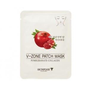 SKINFOOD Pomegranate Collagen V-Zone patch mask