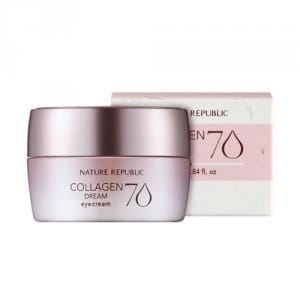 Крем для век с коллагеном Nature Republic Collagen dream 70 eye cream 25ml
