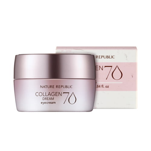Крем для век с коллагеном Nature Republic Collagen dream 70 eye cream 25ml