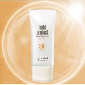 GOODAL Mild Protect Natural Filter Sun Cream SPF50+/PA+++ 50ml