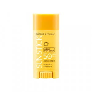 NATURE REPUBLIC Provence Calendula Aqua Sun Stick 15g SPF50+ PA+++