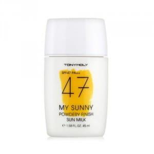 Солнцезащитное молочко Tony Moly My Sunny Powdery Finish Sun Milk SPF47 PA++ 45ml