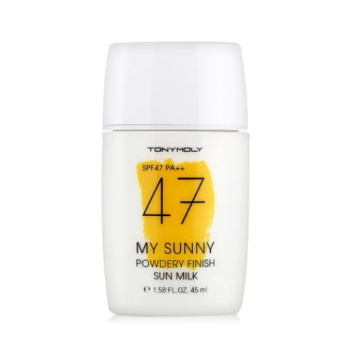 Солнцезащитное молочко Tony Moly My Sunny Powdery Finish Sun Milk SPF47 PA++ 45ml
