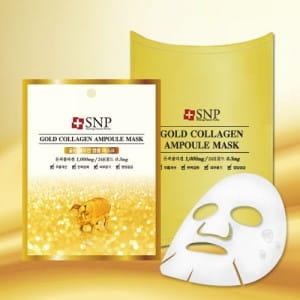 SNP Gold Collagen Ampoule Mask 25ml*10ea