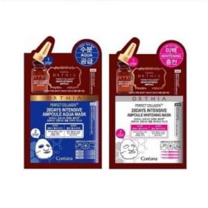 COREANA ORTHIA Perfect Collagen 28Days Intensive Ampoule Mask 10ea