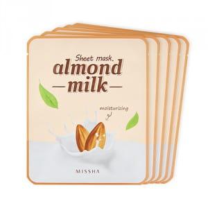 MISSHA Almond Milk Sheet Mask 5ea
