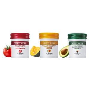 SKINFOOD Beauty Recipe Tomato Soup Sleeping Pack 88ml