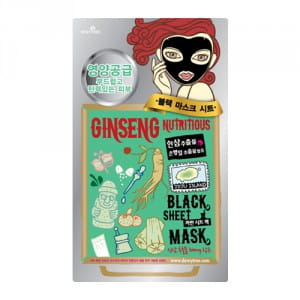 DEWYTREE Ginseng Nutritous Black Mask x10ea