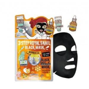 DEWYTREE 3 Step Royal Snail Black mask [25g/10ea]