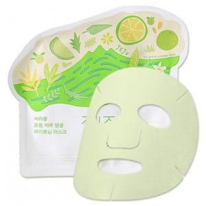 CIRACLE From Jeju Citrus Sudachi whithening mask