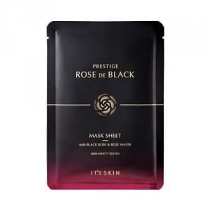 Листовая маска с розовым экстрактом It's Skin Prestige rose de black mask sheet 23ml