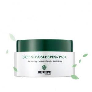 RE:CIPE Greentea sleeping pack 100g