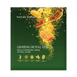 NATURE REPUBLIC Ginseng Royal Silk Gold Hydrogel Mask 32g (1ea)